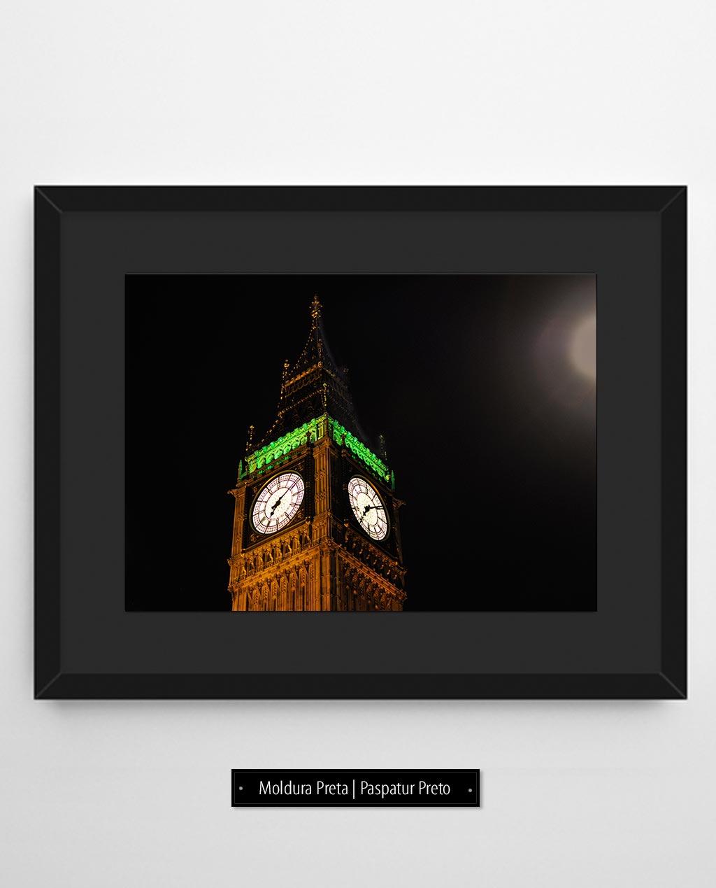 Big Ben e a noite preta   Londres - Inglaterra (LICH)