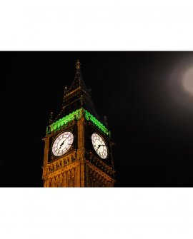 Big Ben e a noite preta | Londres - Inglaterra (LICH)